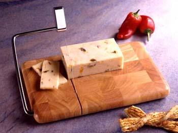 18 / 8  Brushed Stainless Steel Cheese Slicer (Model M-120)