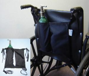 Mini Oxygen Tank Holder For Wheelchairs (Model F706201001)