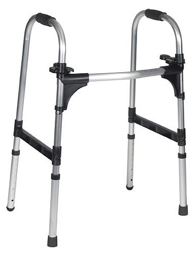 Deluxe Push Palm Release Ultra Lightweight Folding Walker (Models 10291, 10292, 10293 & 10294)