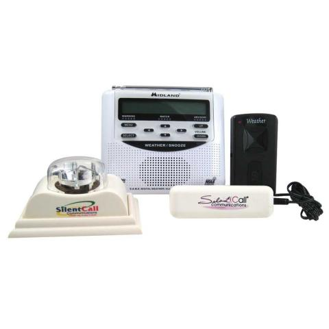 Weather Radio With Light And Bed Shaker