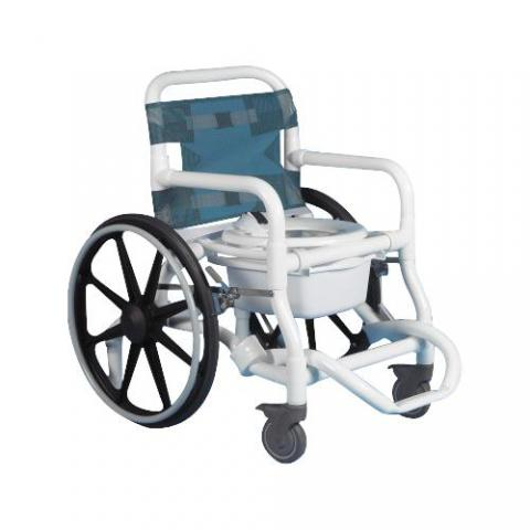 Deluxe Self Propelled Shower And Commode Chair