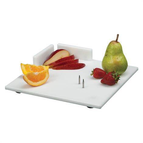 Waterproof Cutting Board With Aluminium Food Spikes