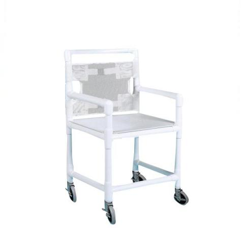 Economy Shower Chair With Perforated Seat