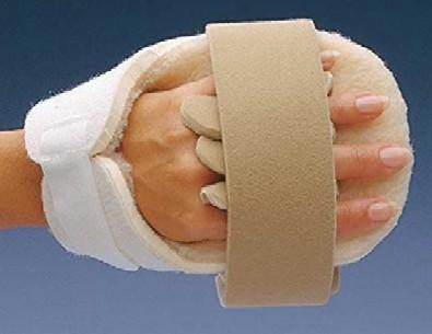 Rolyan Progressive Palm Protector Splints & Rolyan Progressive Palm Protector Splints With Wrist Support