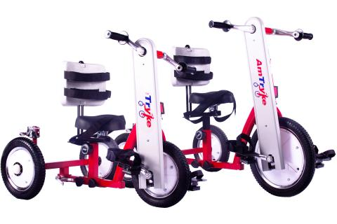 Amtryke Therapeutic Tricycle (Models Am-12 50-0210 & Am-16 50-0411)