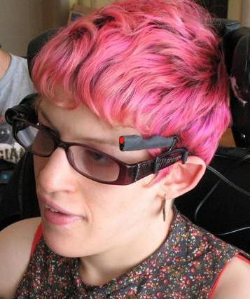 Head Mounted Laser Pointer