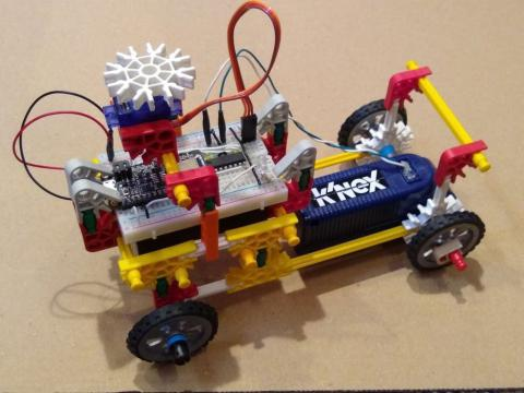 Control K'nex With a Mobile Phone NOT DONE