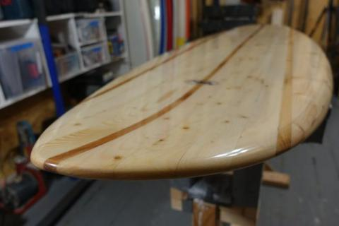 How to Make a Chambered Wooden Surfboard NOT DONE