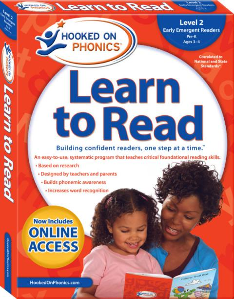 Learn to Read – Level 2: Early Emergent Readers (Pre-K | Ages 3-4)