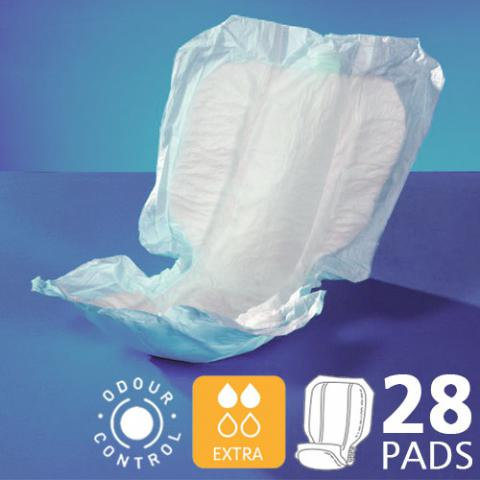 Lille Classic Form Shaped Pads - Extra - Pack of 28