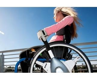 Nu-Drive Wheelchair Lever Drive System