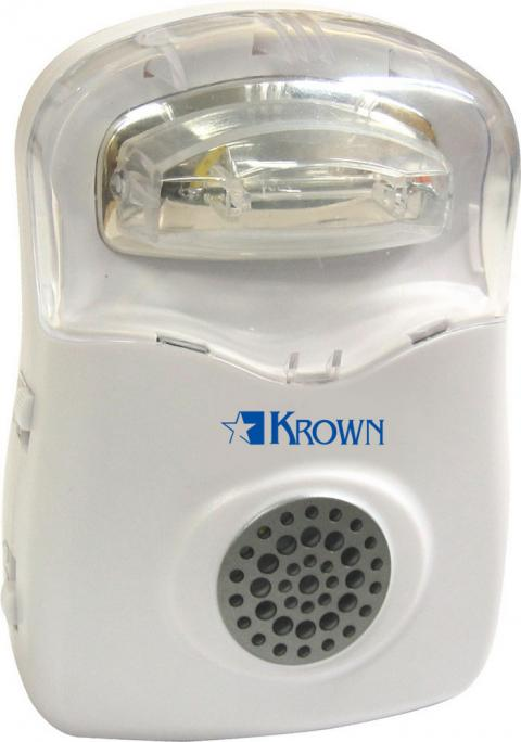 Krown Amplified Ringer 05 With Strobe Light (Model K-Ra05)