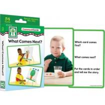 What Comes Next? Photographic Flash Cards