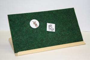 Folding Communication Board/Bookstand