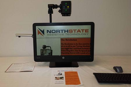 NorthState Revolution 22 inch. All-in-One Magnifier with Android Tablet Computer