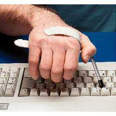 Typing Aid Button Pusher